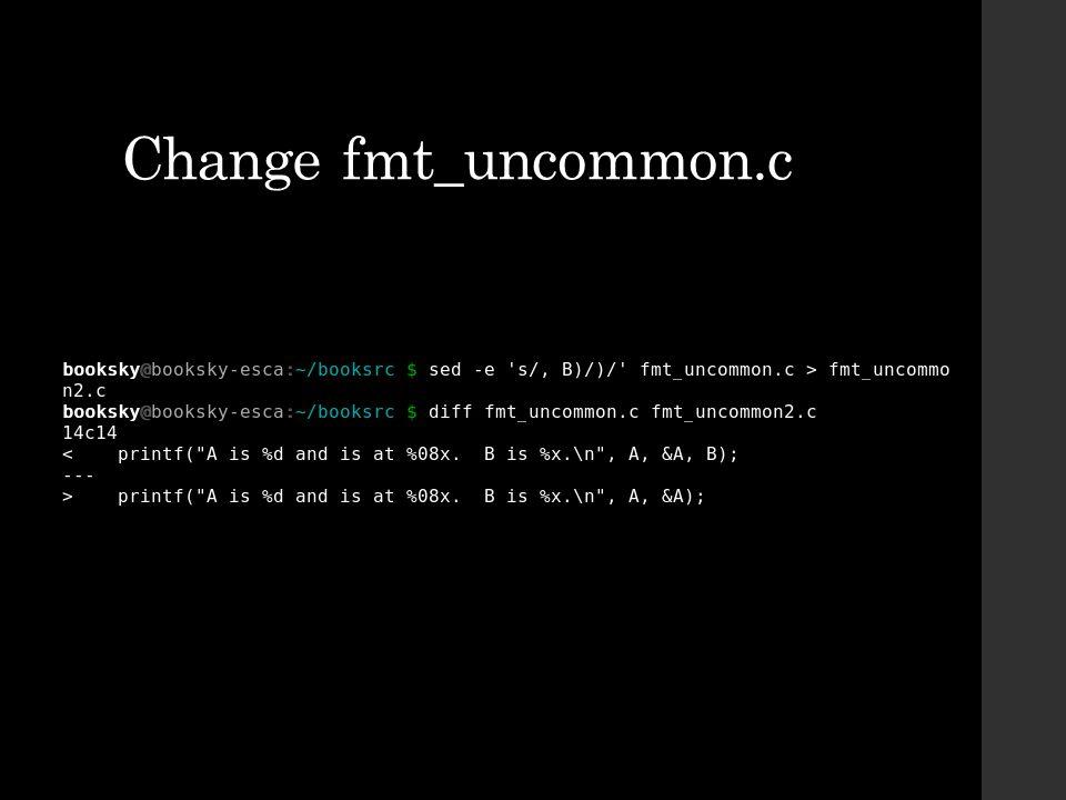 Change fmt_uncommon.c