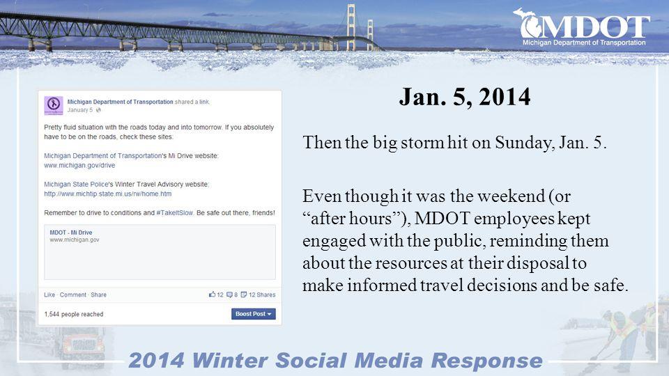 Jan.6, 2014 On Monday, Jan.