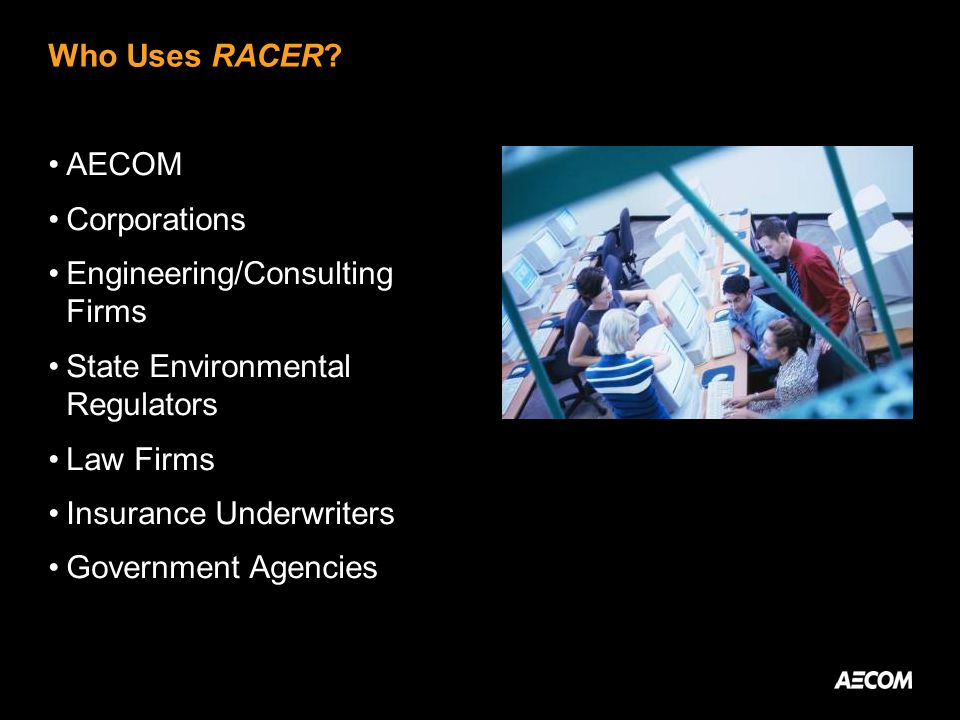 Who Uses RACER.