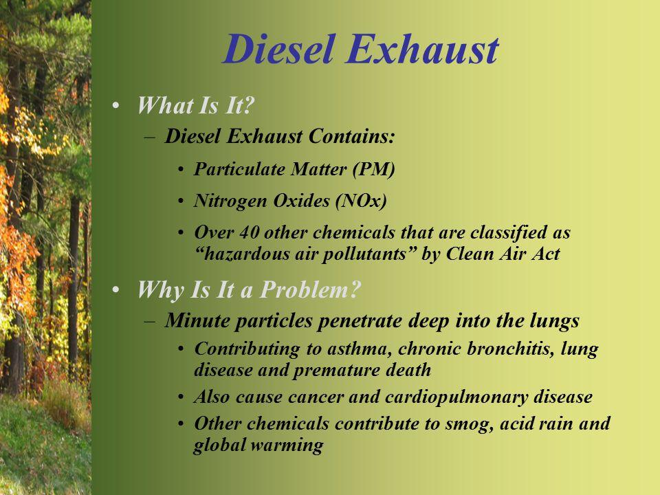 Diesel Exhaust What Is It.