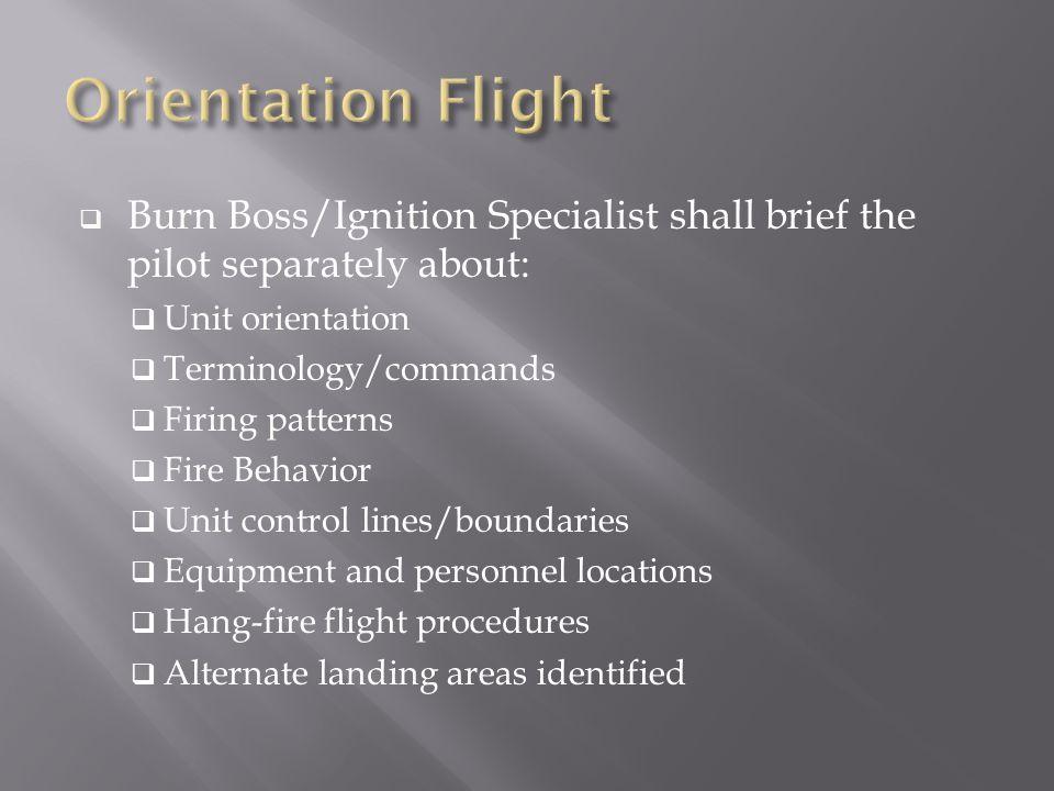  Discreet tactical frequency between pilot, Parking Tender, and Burn/Firing Boss.