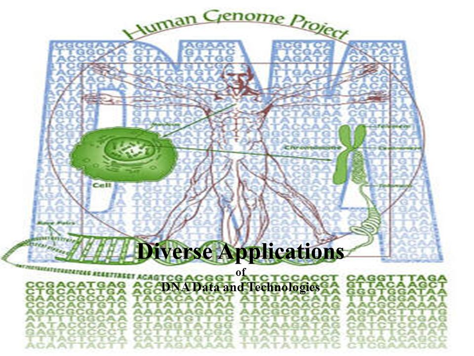 Diverse Applications of DNA Data and Technologies