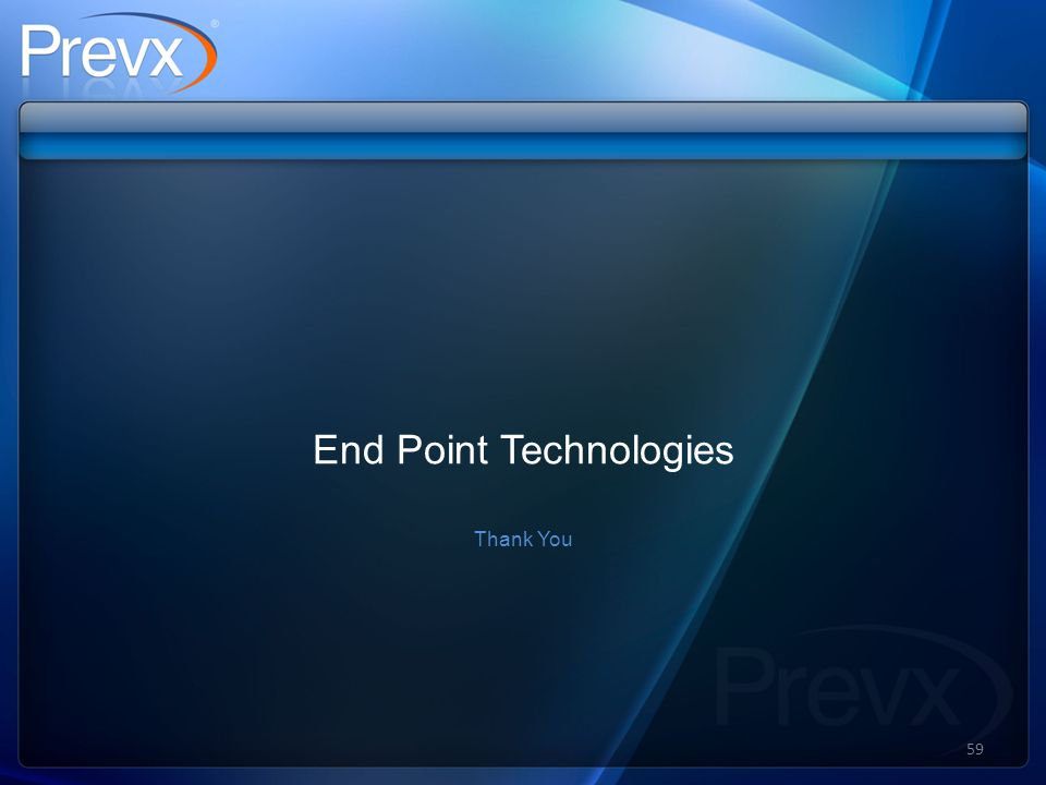 End Point Technologies Thank You 59