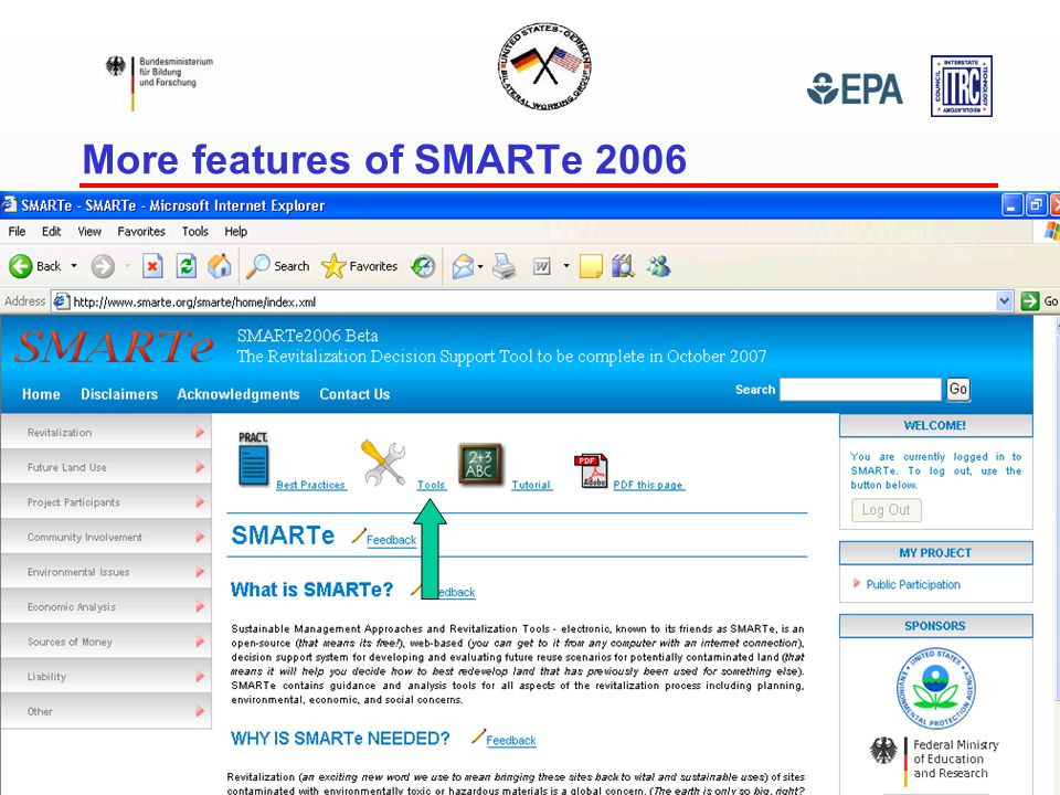 More features of SMARTe 2006