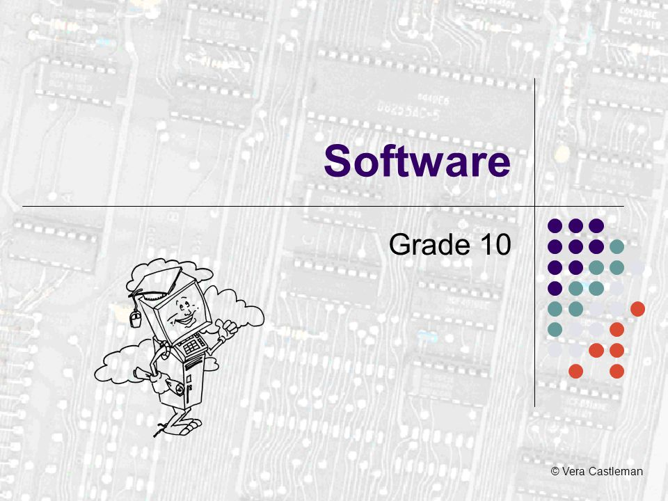 What is software.A program is a collection of instructions to do a job.