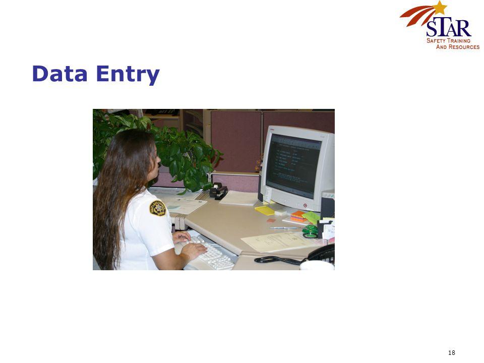 18 Data Entry