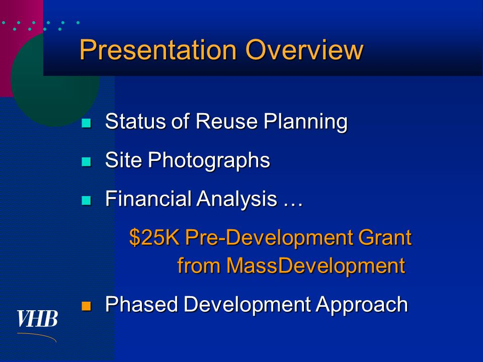  Development Options -Fiscal Impact Analysis Community Center & Recreation Only Community Center & Recreation Only Mixed Senior Housing - Assisted & Independent Mixed Senior Housing - Assisted & Independent Independent Senior Housing Only Independent Senior Housing Only