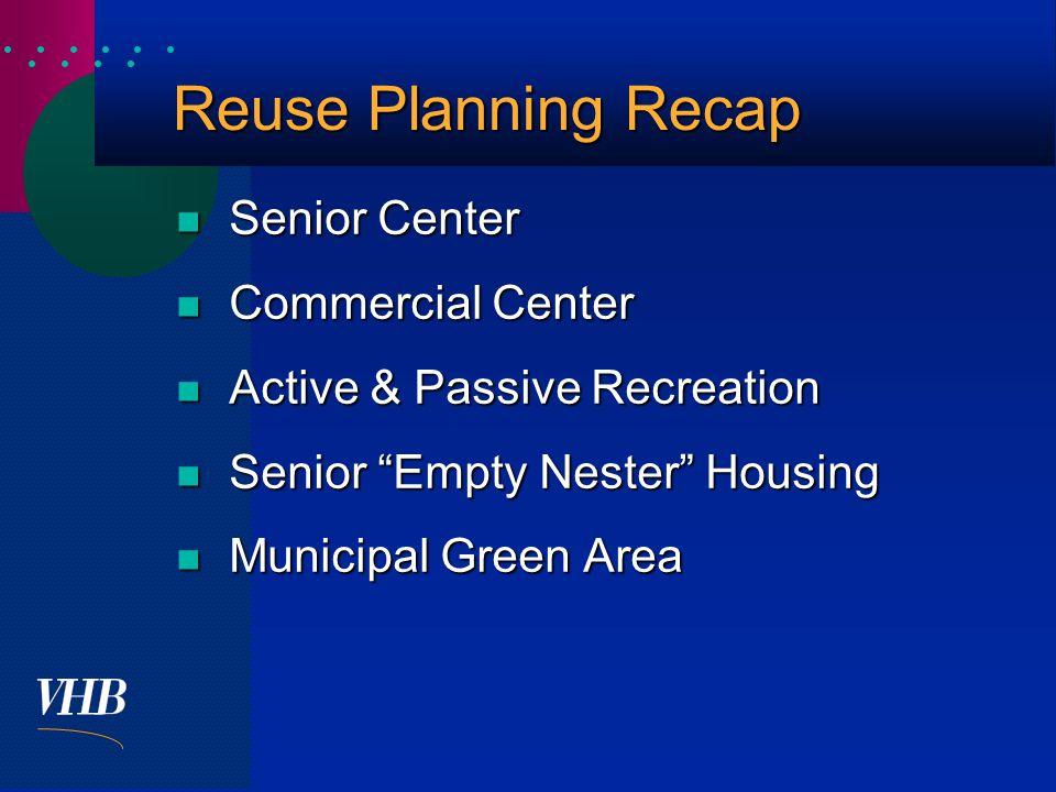  Conceptual Reuse Plan
