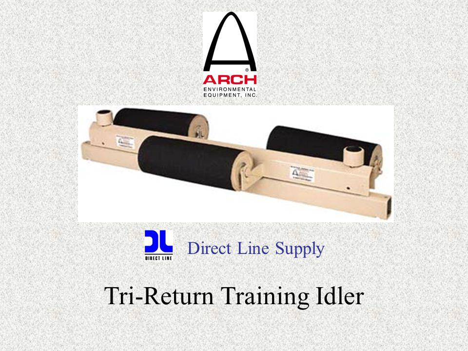 Tri-Return Training Idler Direct Line Supply