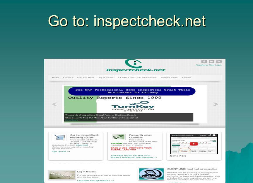 Go to: inspectcheck.net