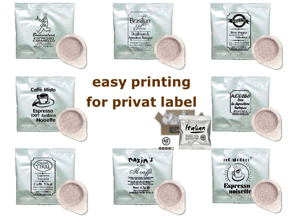 easy printing for privat label