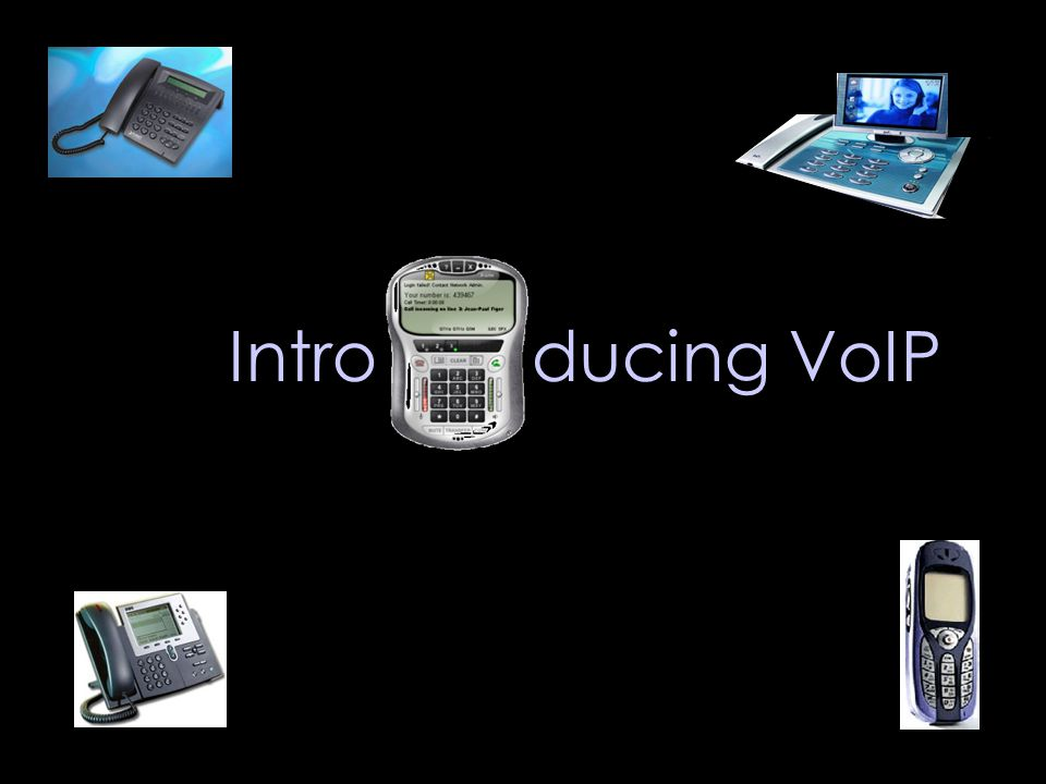 Intro ducing VoIP