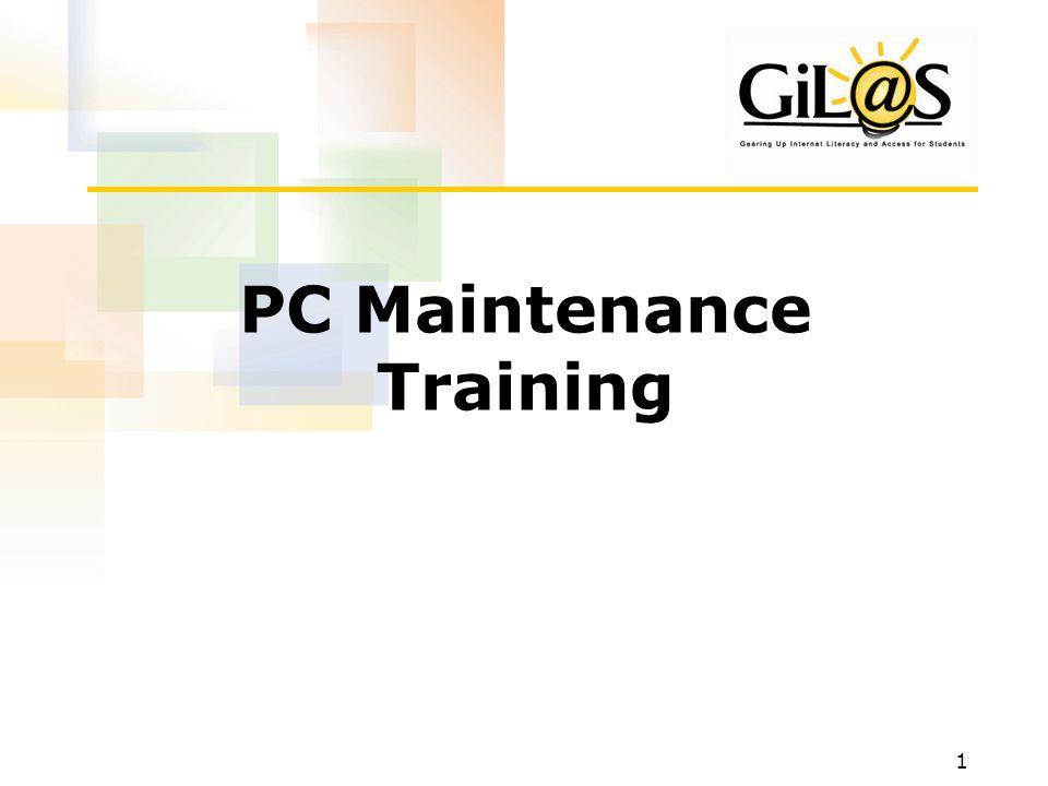 1 PC Maintenance Training