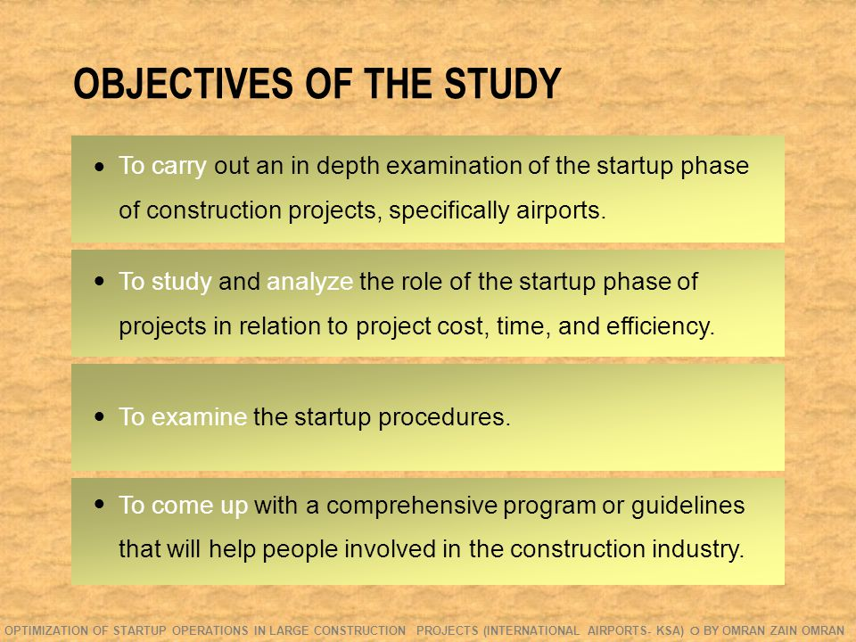 FIELD STUDY- QUESTIONNAIRE Q.VI: How early in the project should startup be discussed.