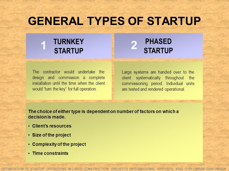 FIELD STUDY- QUESTIONNAIRE Q.VII: How early in the project should startup be introduced.