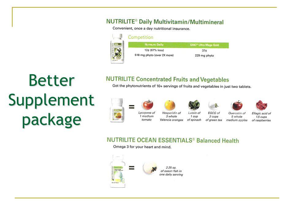 Better Supplement package