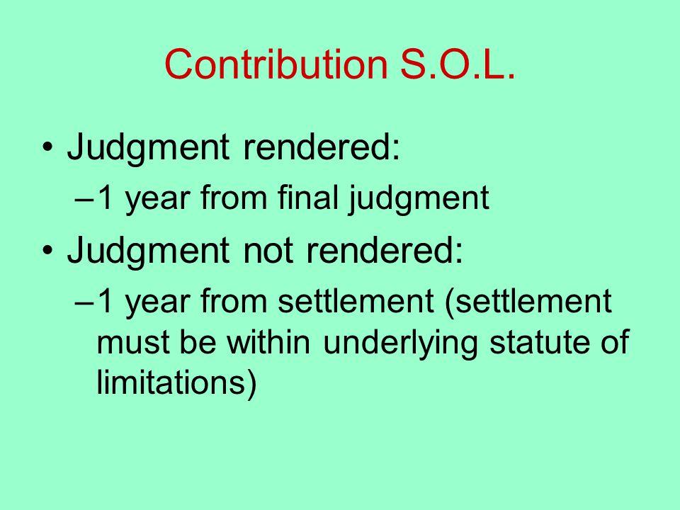 Contribution S.O.L.