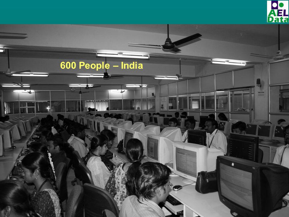 600 People – India