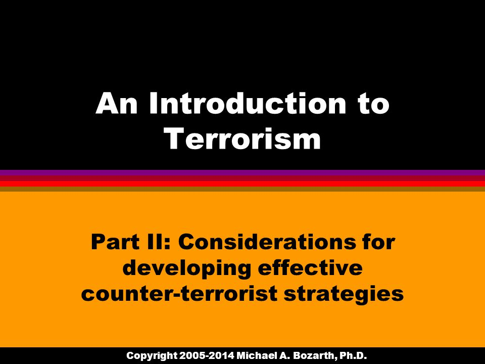 Copyright 2005-2014 Michael A. Bozarth, Ph.D.
