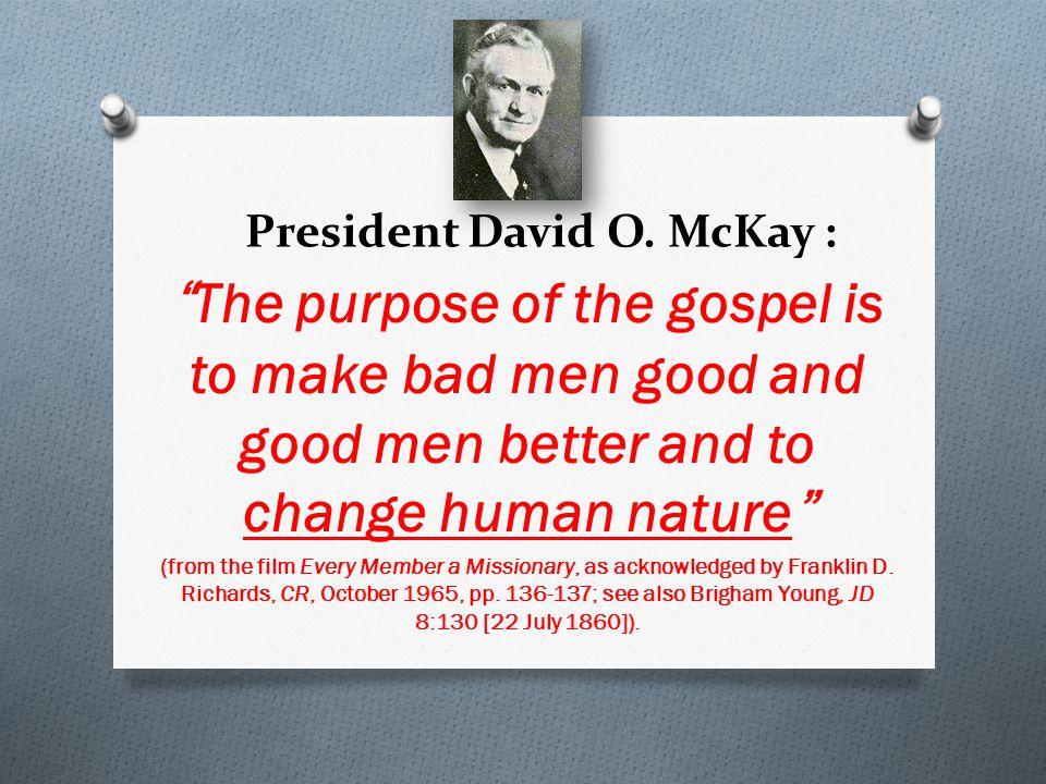 President David O.