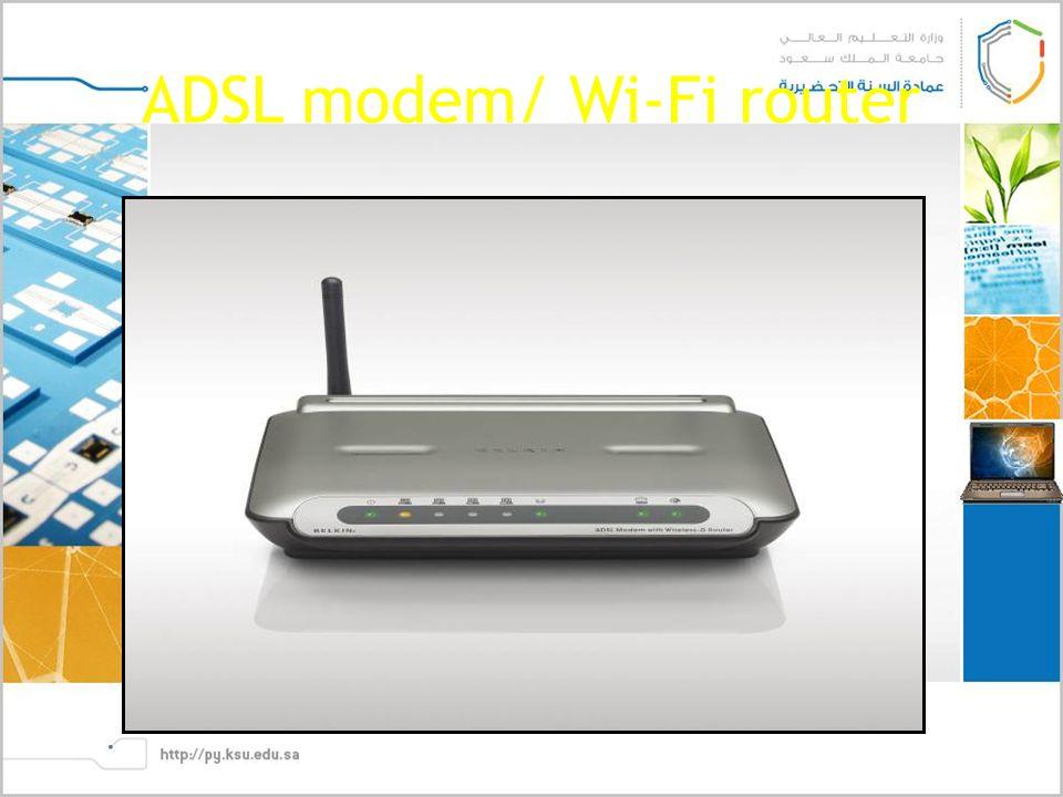 ADSL modem/ Wi-Fi router