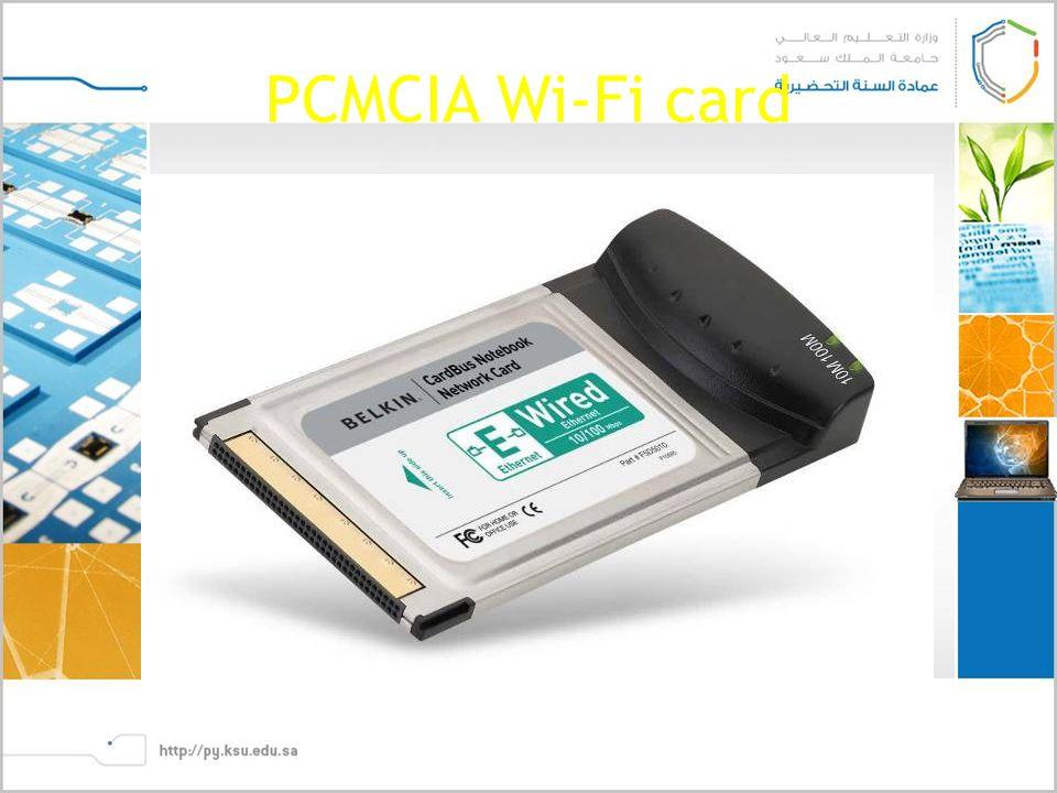 PCMCIA Wi-Fi card