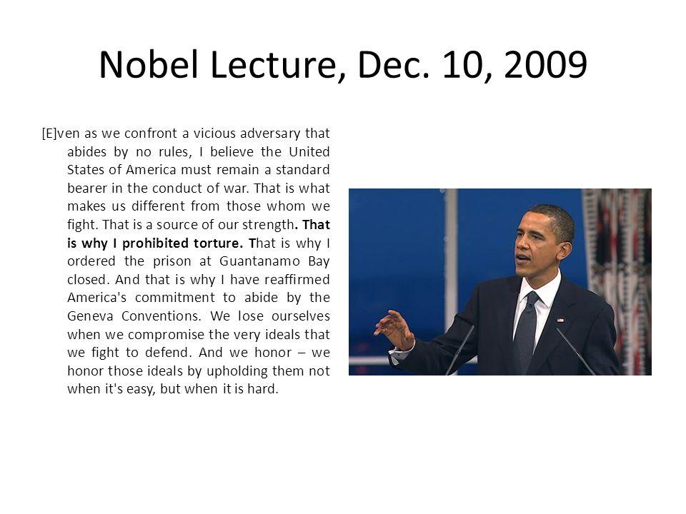 Nobel Lecture, Dec.