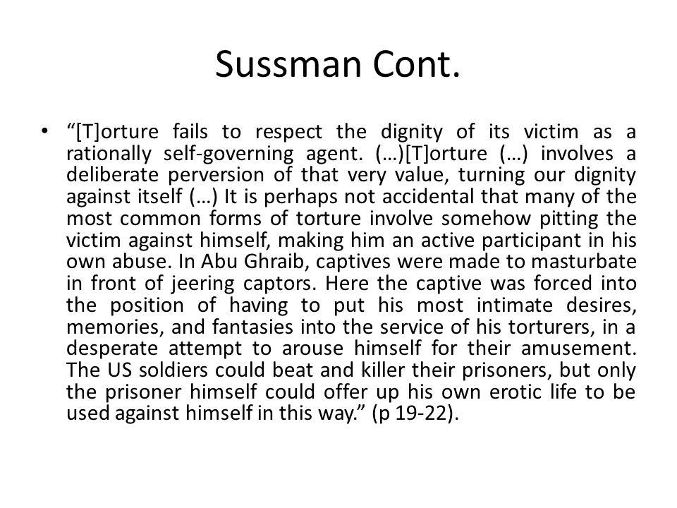 Sussman Cont.