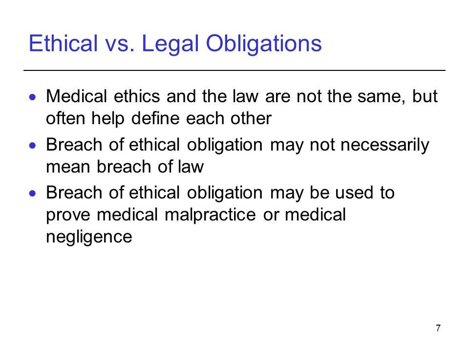 7 Ethical vs.