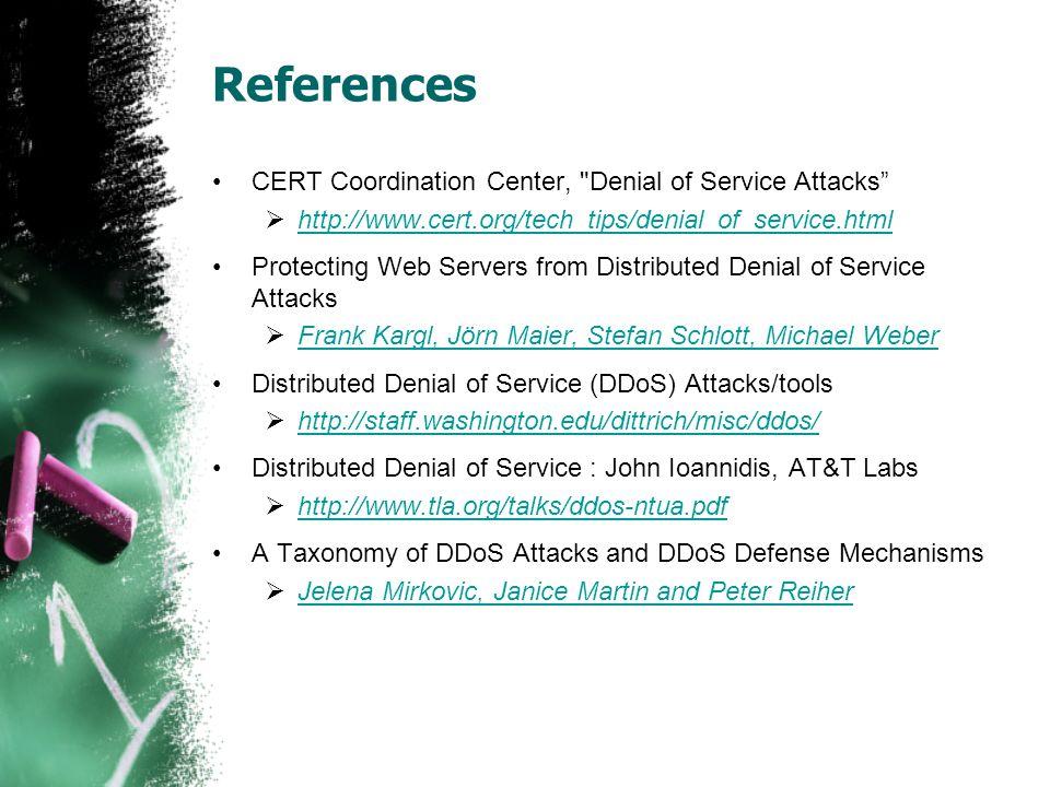 References CERT Coordination Center,