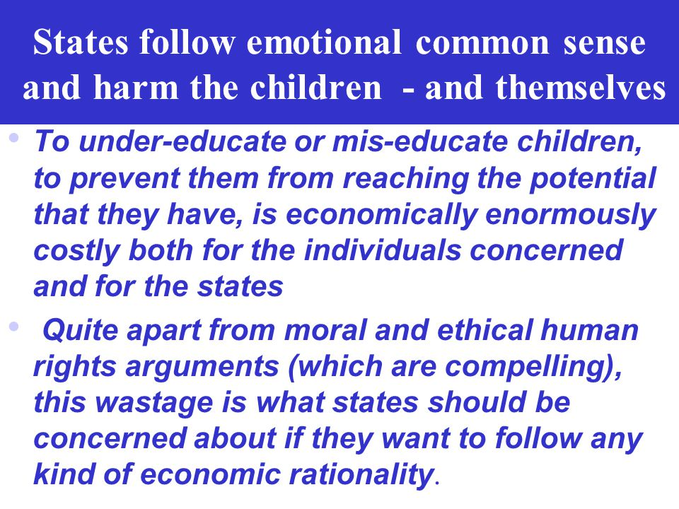 Political science conclusion on the economic argument on poverty eradication Do states try to achieve common aggregate welfare with sensible means, al