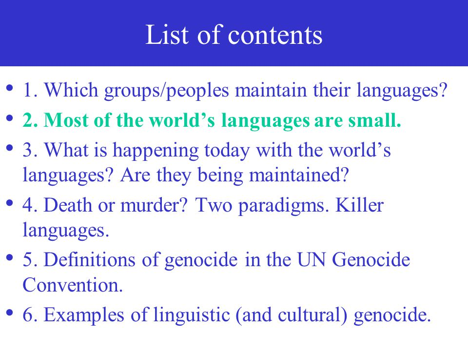 The three groups of languages mentioned as having linguistic rights in the Finnish Constitution (1999), in a descending order 1. Finnish and Swedish (