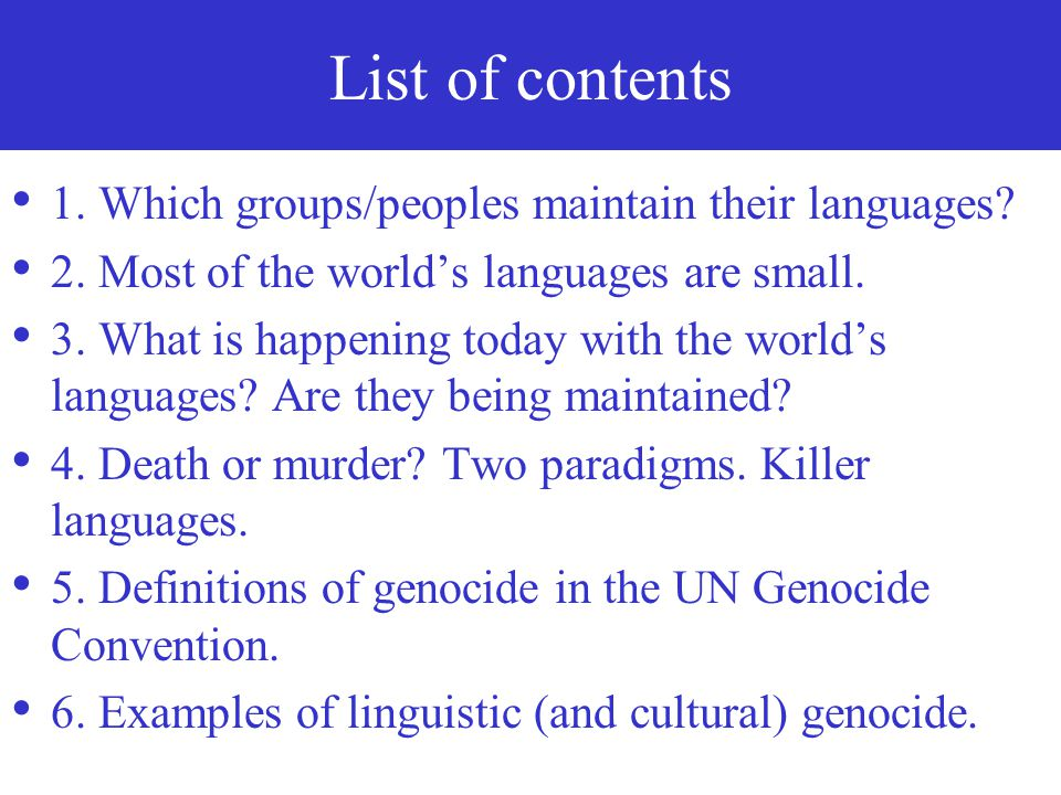 When languages, the vast libraries of human intangible heritage, disappear, is it (natural) death or is it murder.