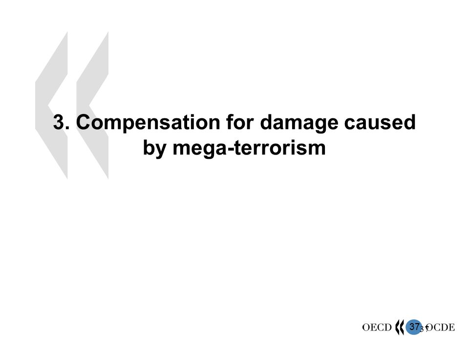 37 3. Compensation for damage caused by mega-terrorism