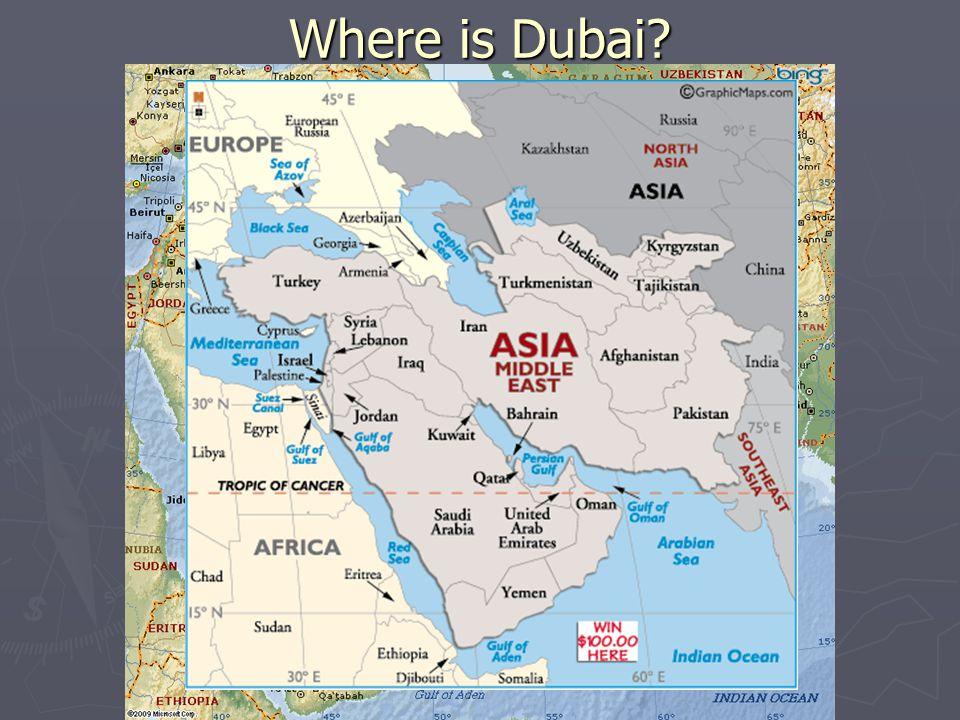Dubai Case Study ► Read and discuss the case study.