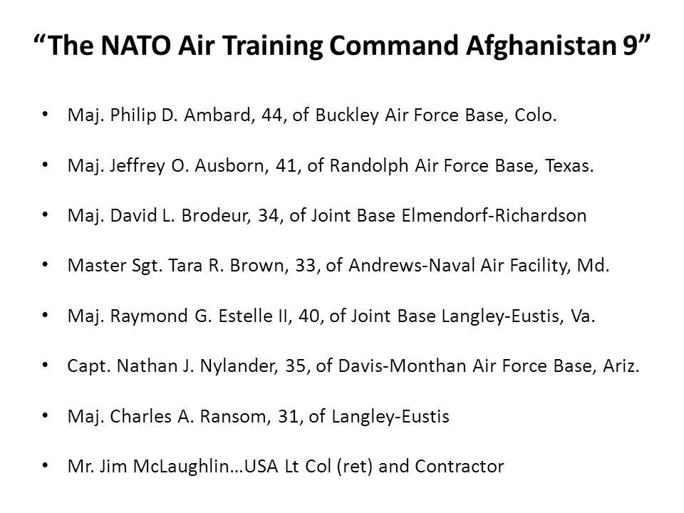 Maj. Philip D. Ambard, 44, of Buckley Air Force Base, Colo.