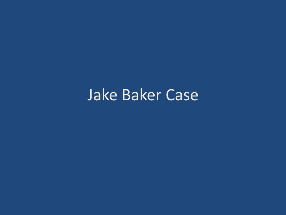 Jake Baker Case