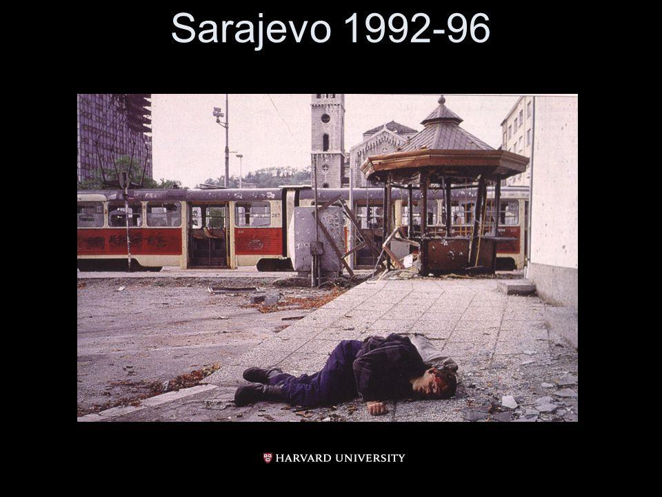Sarajevo 1992-96