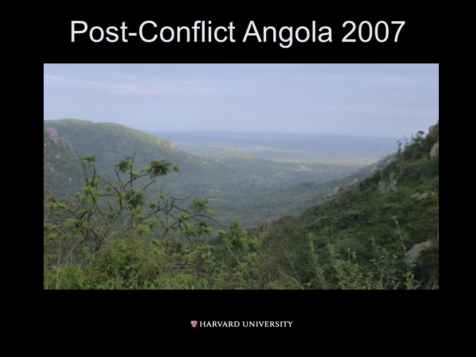 Post-Conflict Angola 2007