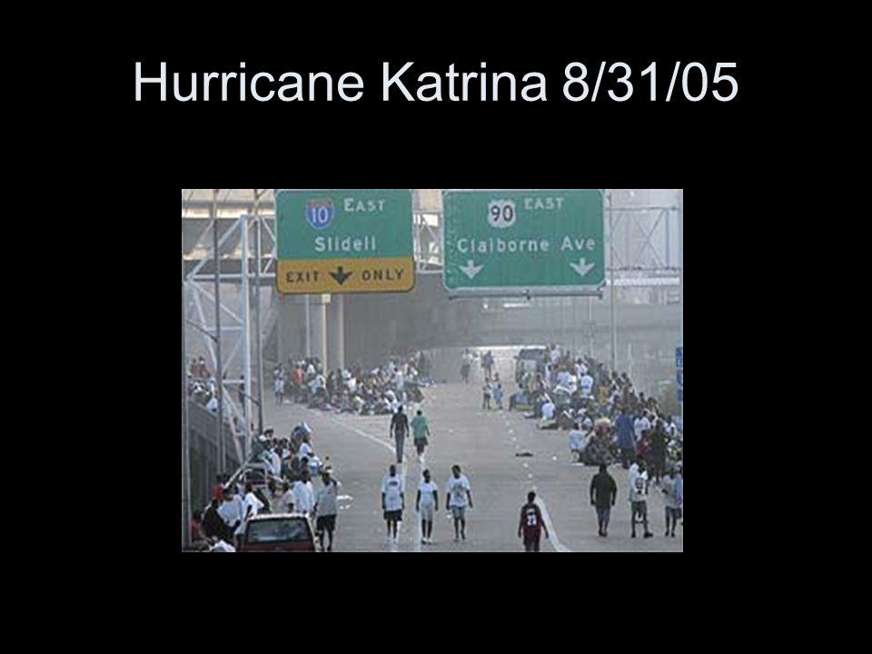 Hurricane Katrina 8/31/05