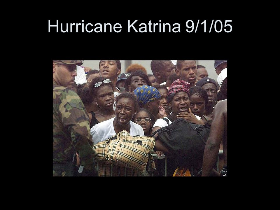 Hurricane Katrina 9/1/05
