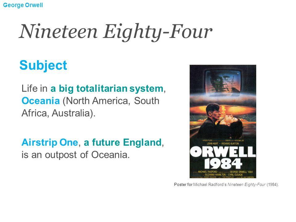1.Introduction of the protagonist, Winston Smith, in this oppressive world.