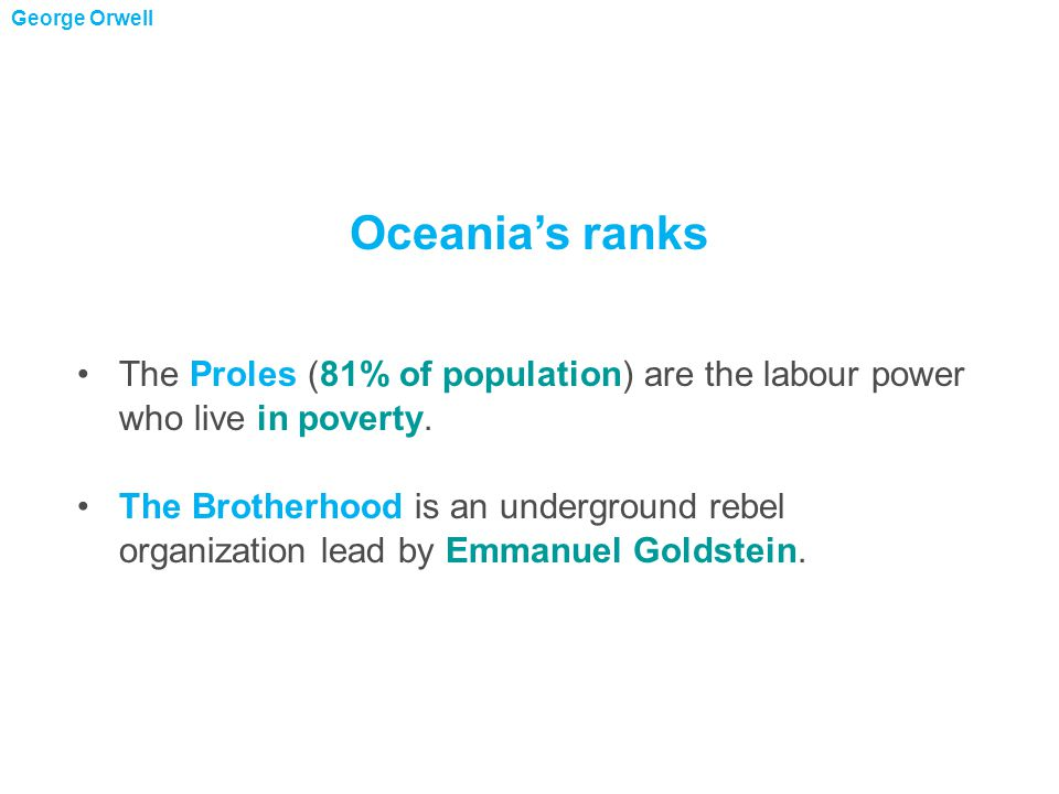 Big Brother is the perceived ruler of Oceania  he looks like a combination of Hitler and Stalin.