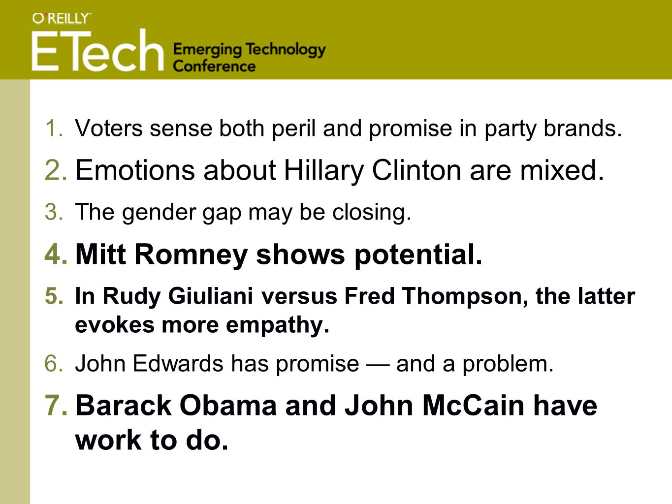 1.Voters sense both peril and promise in party brands.