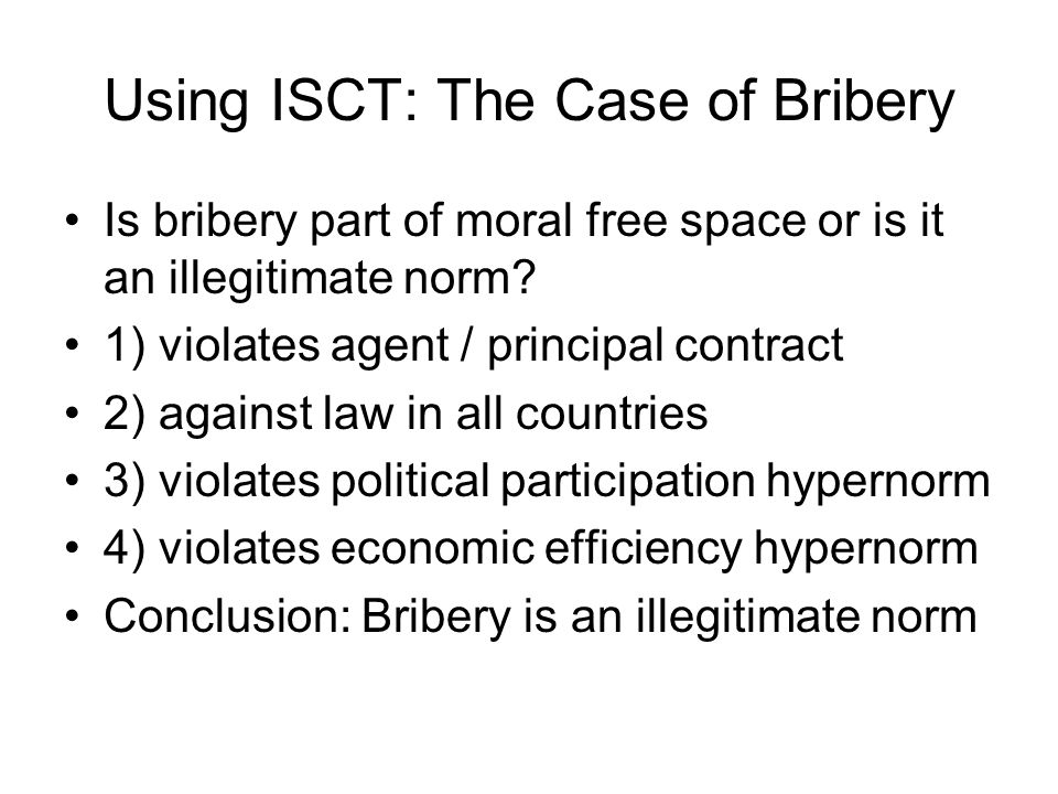 Trends Against Bribery Foreign Corrupt Practices Act enacted Transparency International developed OCED Antibribery Initiatives launched #10 on UN Global Compact