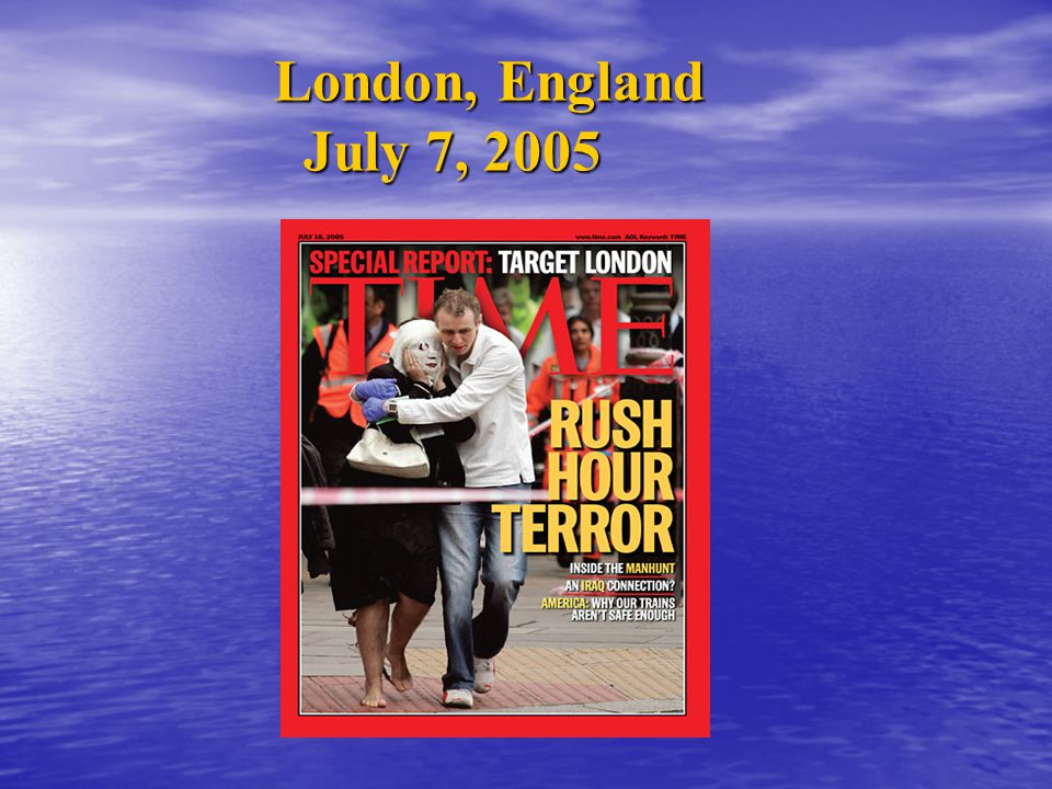 London, England July 7, 2005