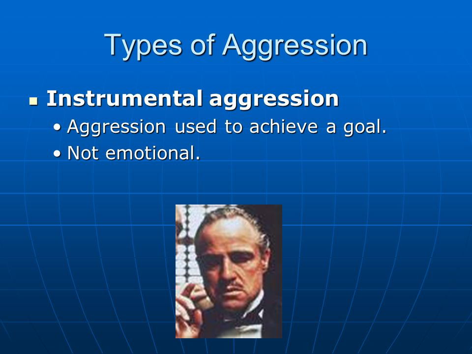 Controlling Aggression 2.Motivational processes: 2.