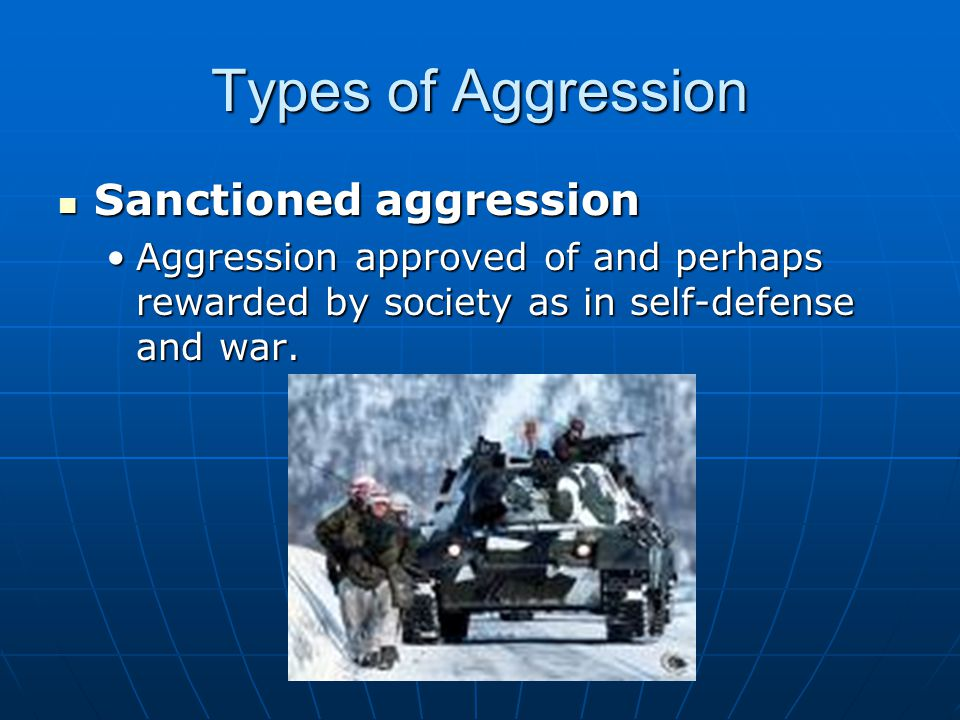 Causes of Aggression A.Biological basesA. Biological bases 1.