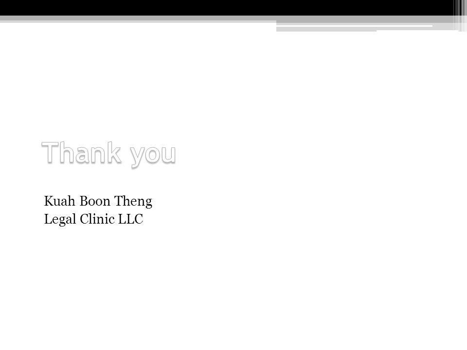 Kuah Boon Theng Legal Clinic LLC