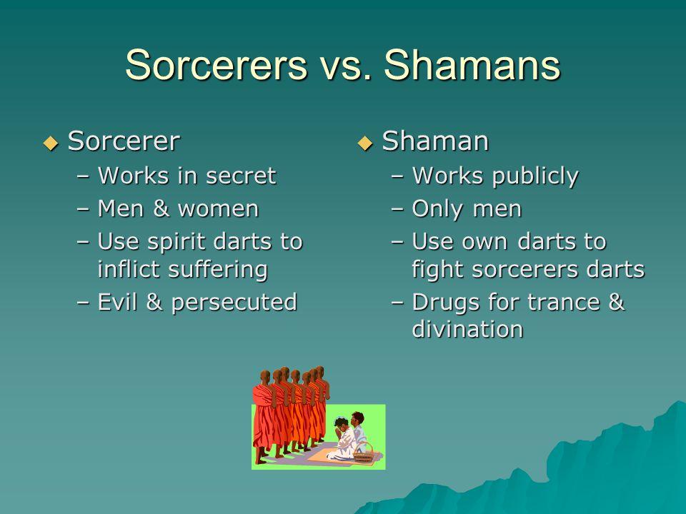 Sorcerers vs.